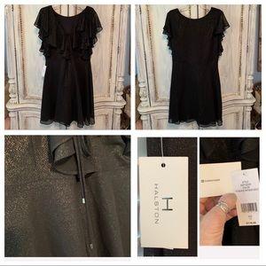 H by Halston Black Dress